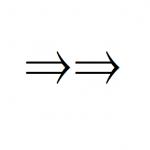 矢印の指す方向